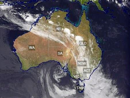 Only a slight chance of rain for Northern Rivers, but wet in New South Wales