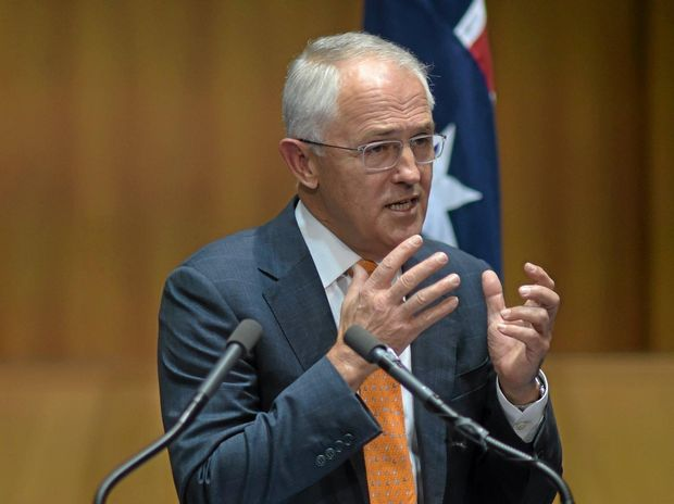 FEDERAL ELECTION: Australian Prime Minister Malcolm Turnbull.