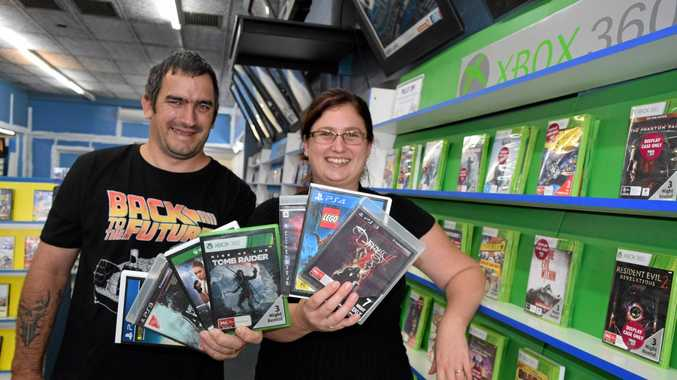 Terry and Shenen Ogilvie are the new owners of Roma's video store, which will soon be re-named OgilV Entertainment.