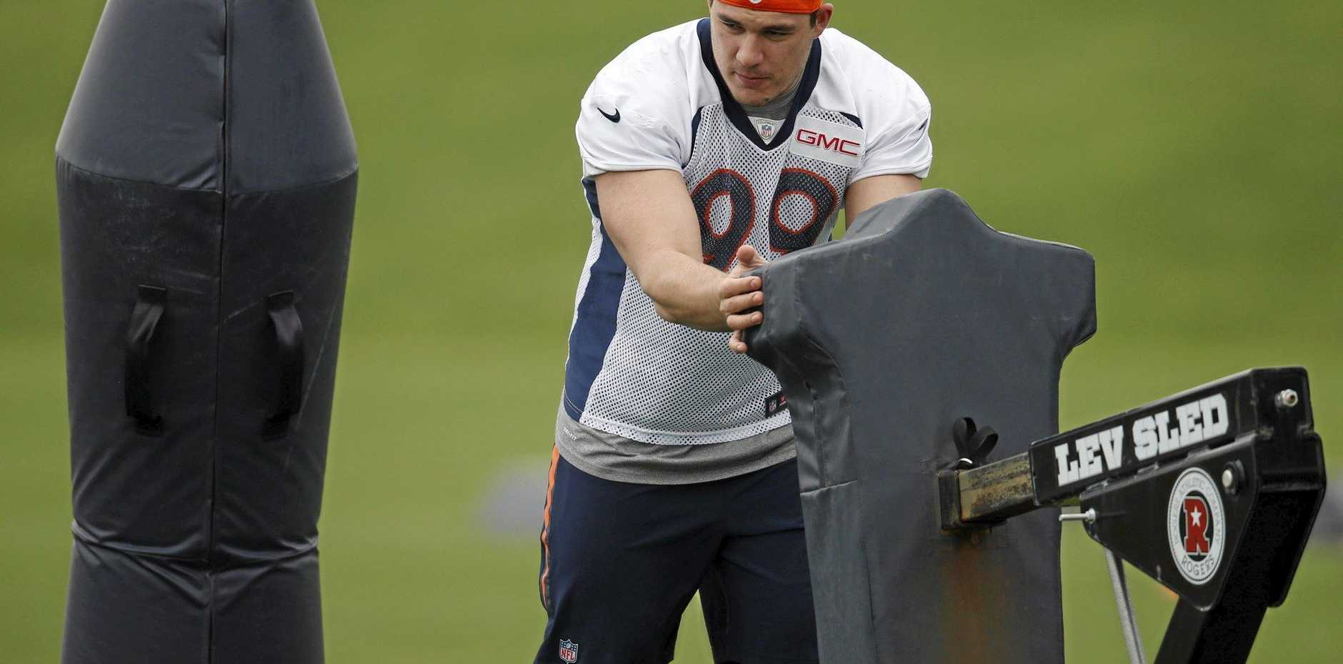 TOP SIGNING: Denver Broncos' Australian rookie Adam Gotsis has a big future in the NFL.