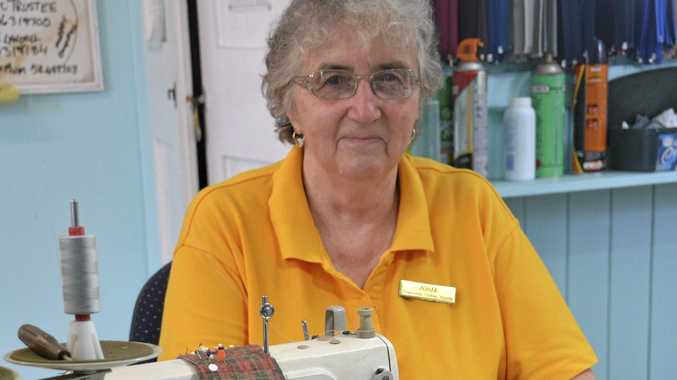 CLOTHES HOSPITAL: Josie Deurloo is the go-to person in Toowoomba for clothing repairs and alterations.