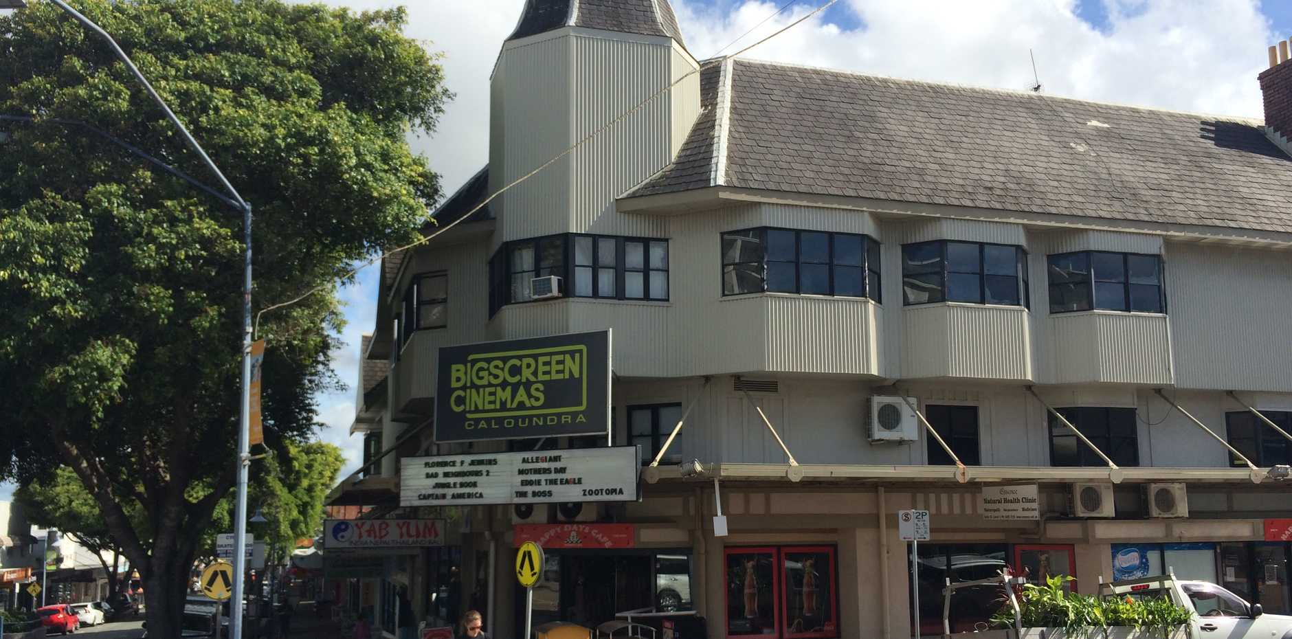 The Big Screen Cinemas was the scene of an armed robbery yesterday.