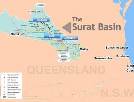 The Surat Basin