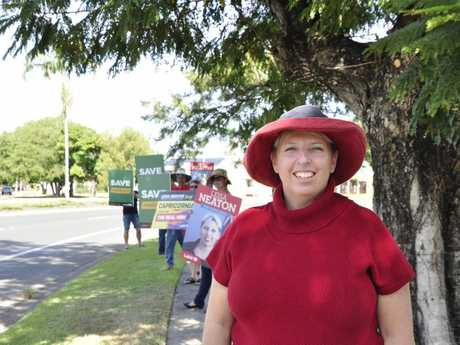 Labor candidate for Capricornia Leisa Neaton kicks off her campaign in Rockhampton. Photo Michelle Gately / Morning Bulletin