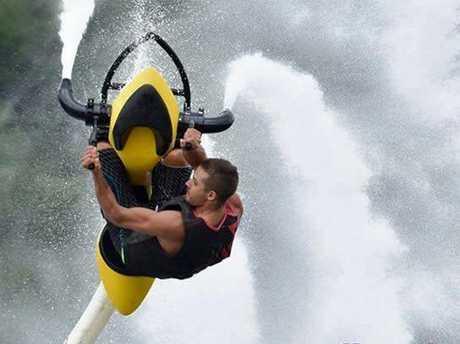 Jetovator in action.