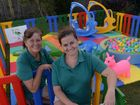 PLAY TIME: Donna Robinson and Jessie Scruton from Turtle Soft Play.