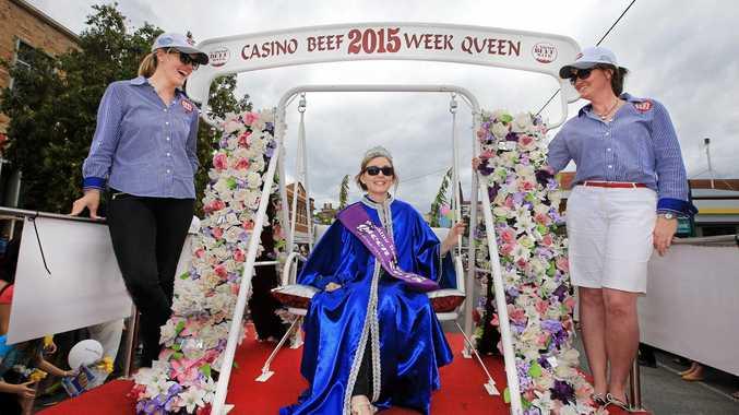 The Queen of Casino Beef Week 2015 Miss Anna Imeson. Photo: Scott Powick / Daily News