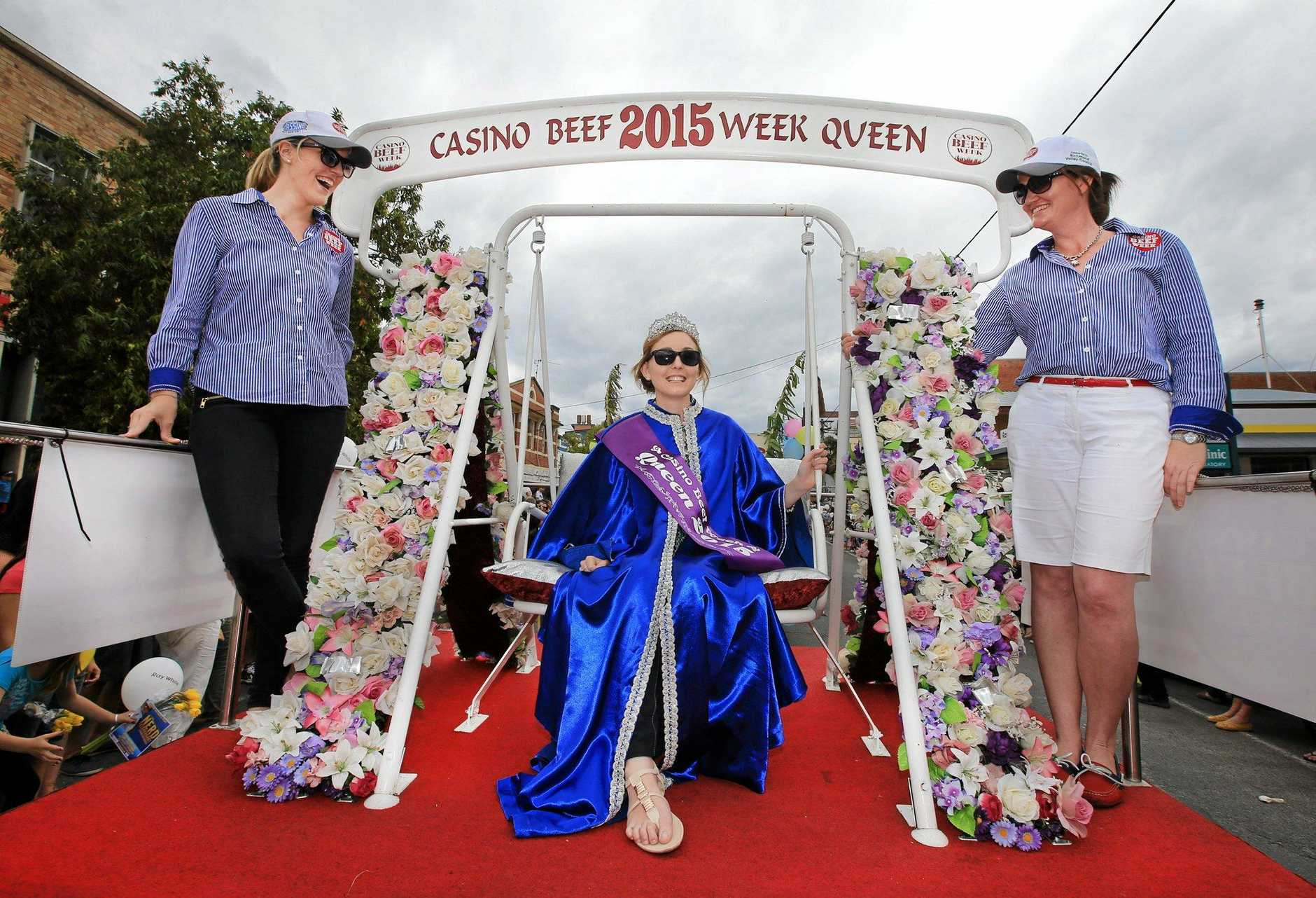 The Queen of Casino Beef Week 2015 Miss Anna Imeson. Photo: Scott Powick / Daily News