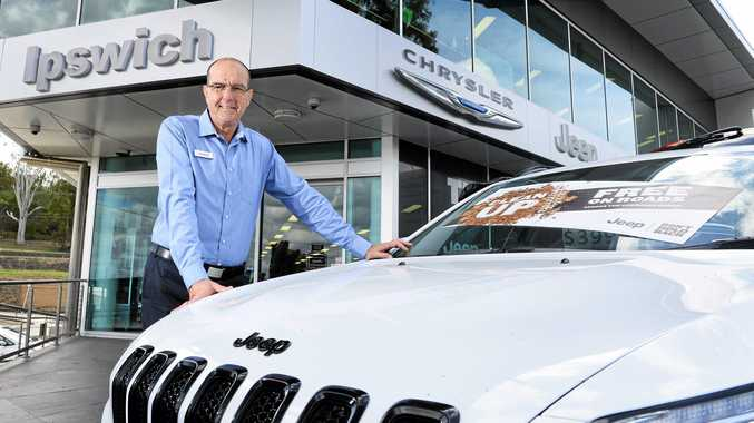 NEW LIFE: Dealer principal Paul Guidi is happy to have taken over the Jeep, Chrysler, Dodge and Kia dealership in Bundamba.