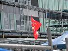 Electrical Trades Union strike at the Sunshine Coast University Hospital.