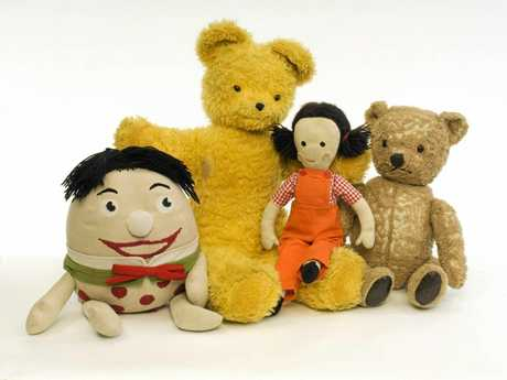Big Ted and friends from Playschool.
