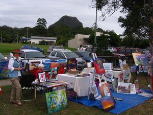 Art Market in The Paddock at Pomona