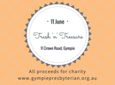 Grab a bargain and help those in need at the Gympie Presbyterian Church Trash 'n' Treasure sale.