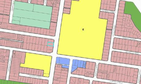 Zoning for the Southtown area between schools and proposed parlour and day spa.