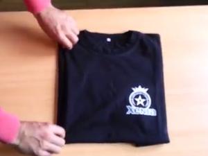 You're folding T-shirts wrong