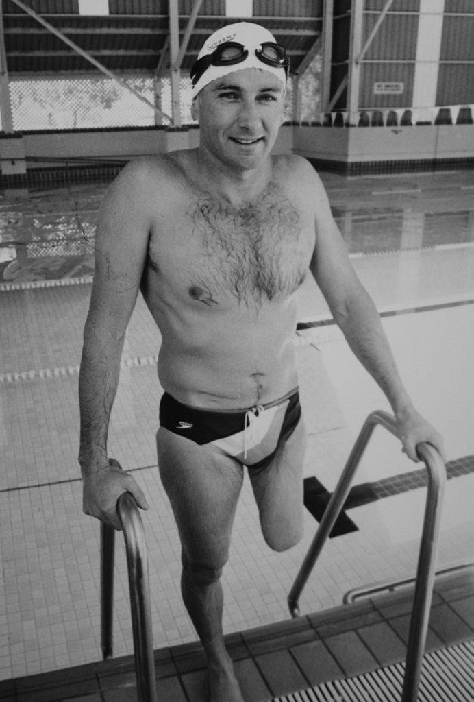 Brendan Burkett - photo from the Morning Bulletin archive. Photo The Morning Bulletin.