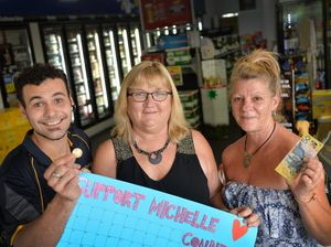 Gympie backs Michelle Connell's fight to stay alive