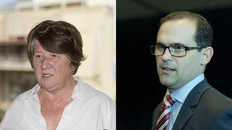 Toowoomba South candidates Di Thorley and David Janetzki.