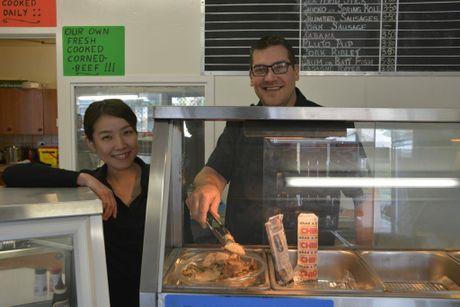 Owners Miharu Iwashita and Adam Sack.