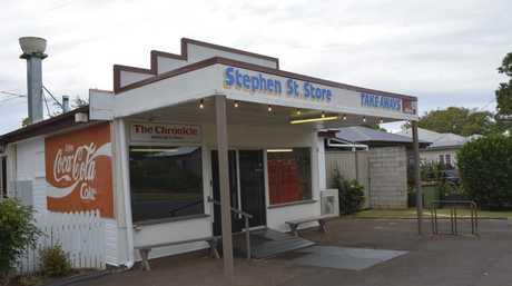 The Stephen Street Store.