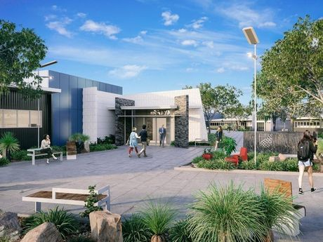 An artist's impression of the technology park.
