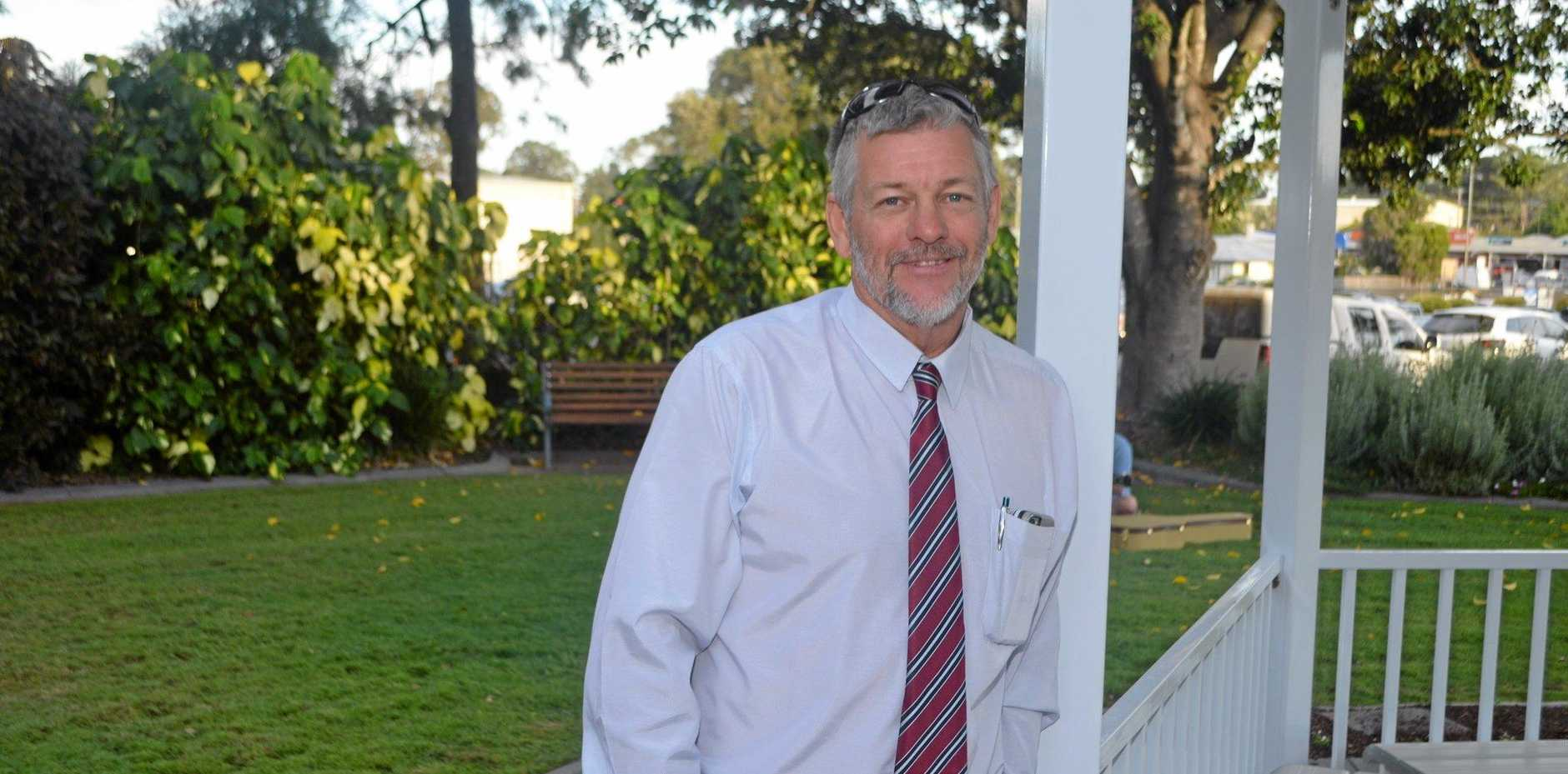 PROUD TO BE HERE: Councillor Michael Hagan candidly shares a little about his life leading up to his new role as Lockyer Valley councillor.
