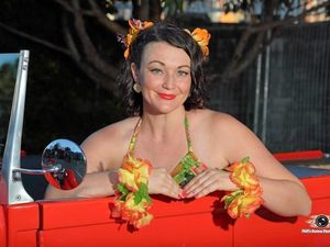 Coast pin-up models encourage others to get involved