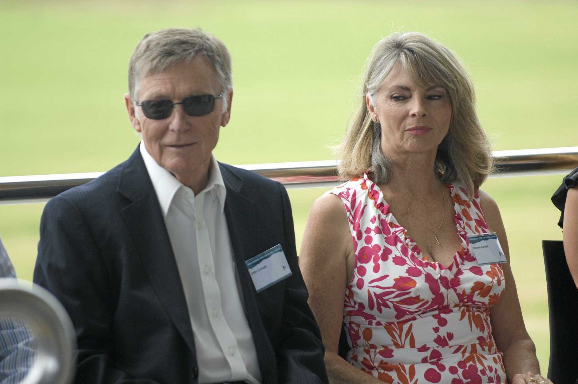 John and Delvene Cornell at the opening of the Byron Regional Sporting and Cultural Complex. Photo Jay Cronan / The Northern Star