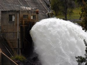 Leslie Dam to plunge to 14% after water release