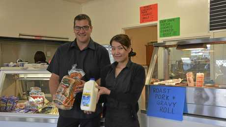 NEW BEGINNING: The Stephen St Store has reopened with new owners Miharu Iwashita and fiance Adam Sack who plan to revitalise the corner stores in Toowoomba.