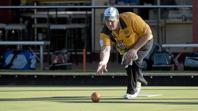 ON A ROLL: South Toowoomba's Shaun Kiepe could be in action in next week's Prestige Fours event at South Toowoomba Bowls club.