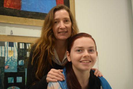 MUMS PLEA: Melissa Duncan wants all treatment options available to help control her daughter Shania's epilepsy. Including cannabis. Photo Hannah Baker / Fraser Coast Chronicle