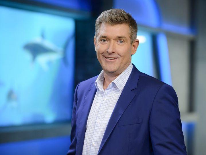 Dr Glen Richards joins the TV series Shark Tank.
