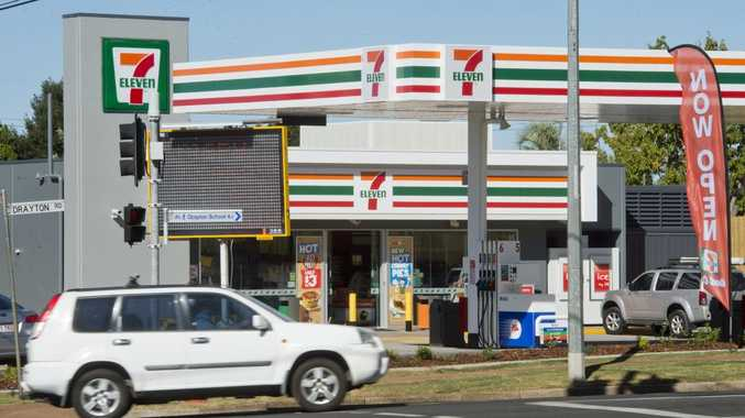 The new 7-Eleven service station in Harristown.
