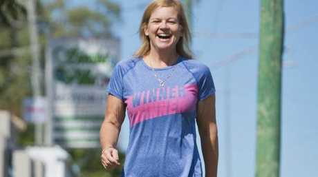 MASSIVE LOSS: Mum Rochelle Luders has shed 47 kilos as part of a promise to her son Mitchell who died in August after a four-year battle with cancer.