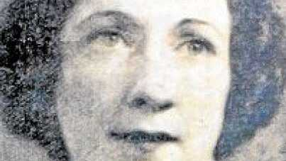 MISSING WOMAN: Marjorie Norval went missing in 1938.