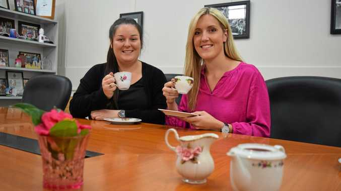 Casino Beef Week high tea organisers Ebony Nowlan and Lena Mager are inviting rural women to buy their tickets to the upcoming event on May 26.