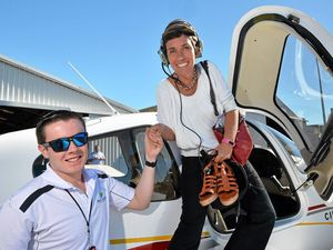 Going flying with a teen in teeny plane