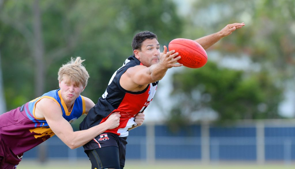 BITS player Damien Lyon said he sees growth in his young team.
