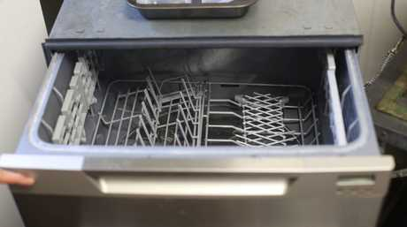 Will my oven racks fit in here? Apparently yes.