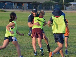 NRL legend inspires kids