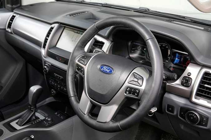 Ford Ranger XLT. Photo: Contributed