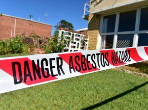 Asbestos demolition puts resident at risk