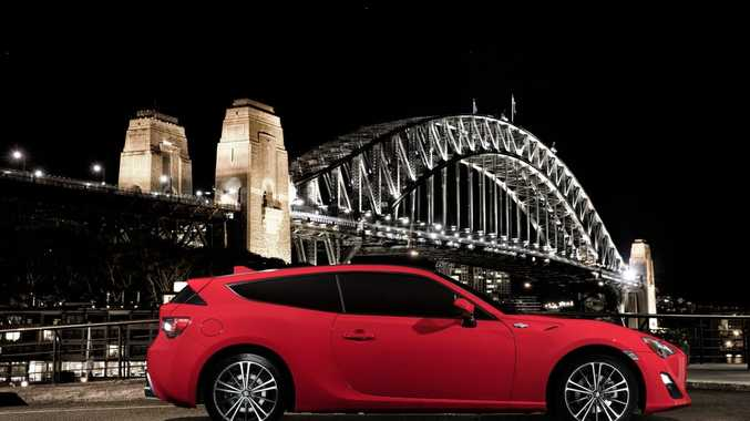 Toyota 86 Shooting Brake Concept revealed in Sydney. Photo: Contributed.
