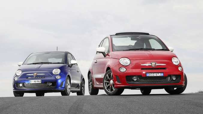 CHEAPER ENTRY: New 103kW Abarth 595 in hard top and cabrio form hit Australia from $27,500.