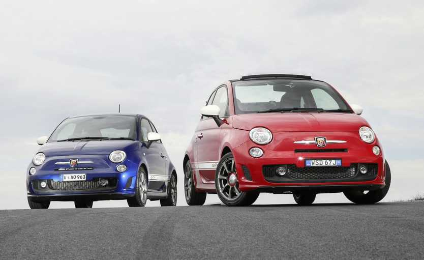 2016 Abarth 595C and 595. Photo Contributed.