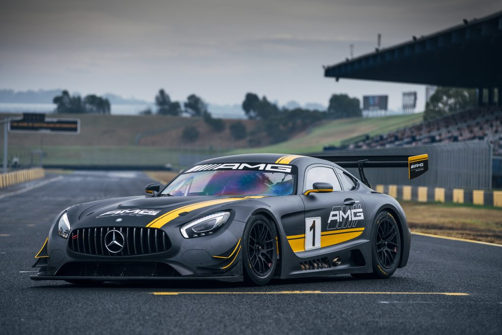 2016 Mercedes-AMG GT3. Photo: Chris Benny