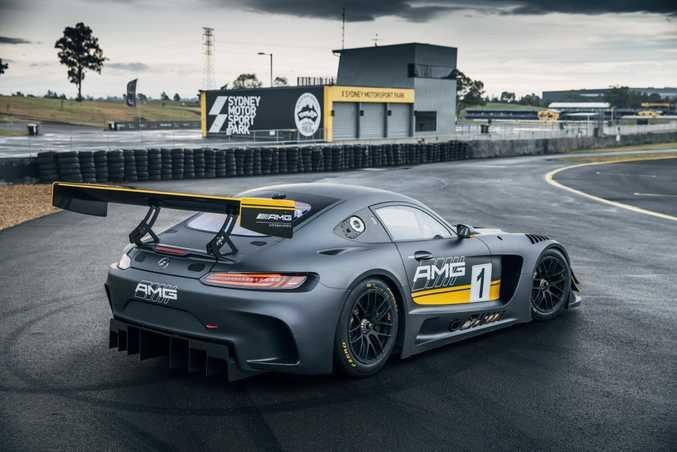 2016 Mercedes-AMG GT3. Photo: Chris Benny