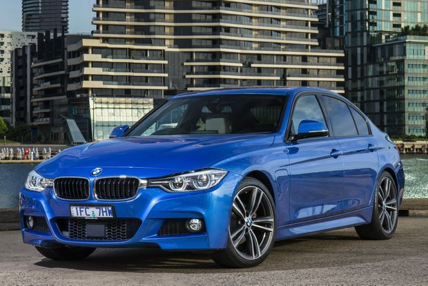 PLUG IN BABY: BMW offers compelling reasons for the right buyer to embrace plug-in hybrids over its conventional 330i. Stuck in city traffic most days? The 330e is your car.