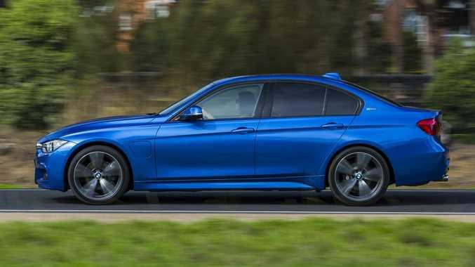 2016 BMW 330e. Photo: Mark Bean